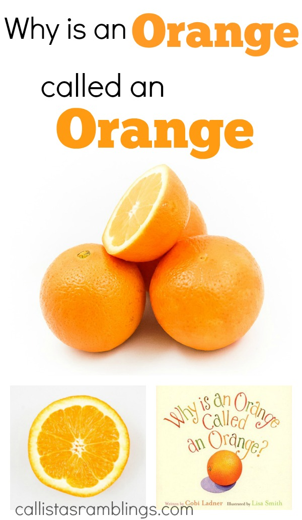 Why is an Orange called an Orange