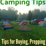 Tent Camping Tips from a Tent Camper