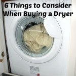 6 Points to Consider When Buying a Dryer