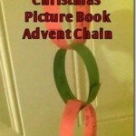 How to Make a Picture Book Christmas Advent Chain