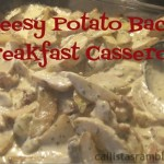 Cheesy Potato Bacon Breakfast Casserole with Cavendish From the Farm