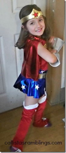 Superhero Costumes for Your Child from Anytime Costumes - Callista's Ramblings