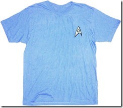 Star Trek Shirt from TV Store Online