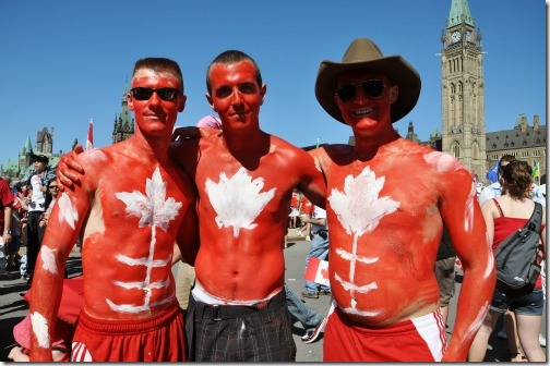 Three Canadian Men