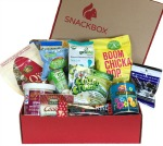 Snack Box Organic Snacks Monthly Subscription Box