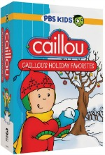 Caillou's Holiday Favourites DVD