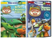 Dinosaur Train: We Are a Dinosaur Family and Dinosaurs in the Snow