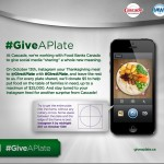 Upload a Picture of Your Thanksgiving Dinner TODAY to Instagram to Benefit Families In Need #GiveAPlate #PGmom