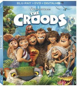 The Croods on Blu-Ray and DVD