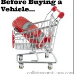 Considerations When Buying a Vehicle
