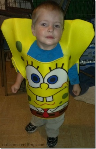 Child's Spongebob SquarePants Costume from Wholesale Halloween Costumes