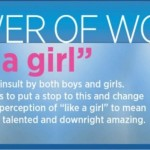 Be Like a Girl + Infographic on Girls and Confidence #LikeAGirl