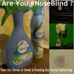 How Our Sense of Smell is Ruining Our Social Gatherings #noseblind (+giveaway)