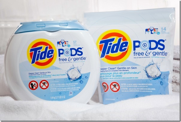 Tips for Sensitive Skin with Tide
