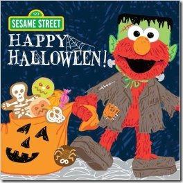 Happy Halloween Sesame Street (Halloween Books for Kids)
