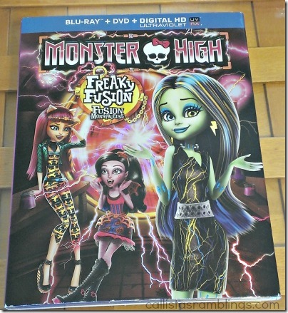Monster High Party for Freaky Fusion on DVD
