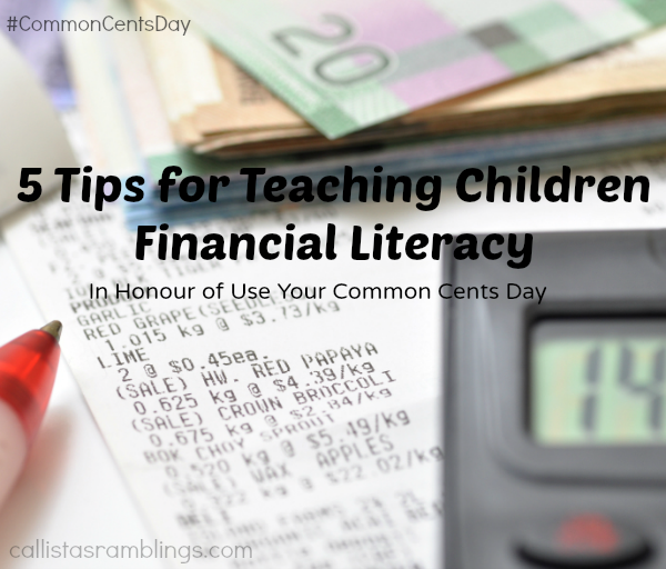 5 Tips to Teach Children About Money| callistasramblings.com