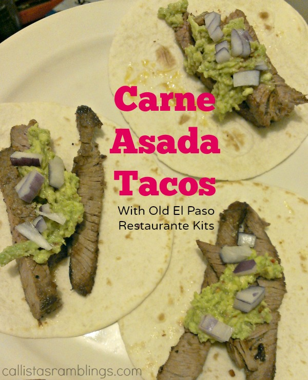 Making Carne Asada Tacos with Old El Paso