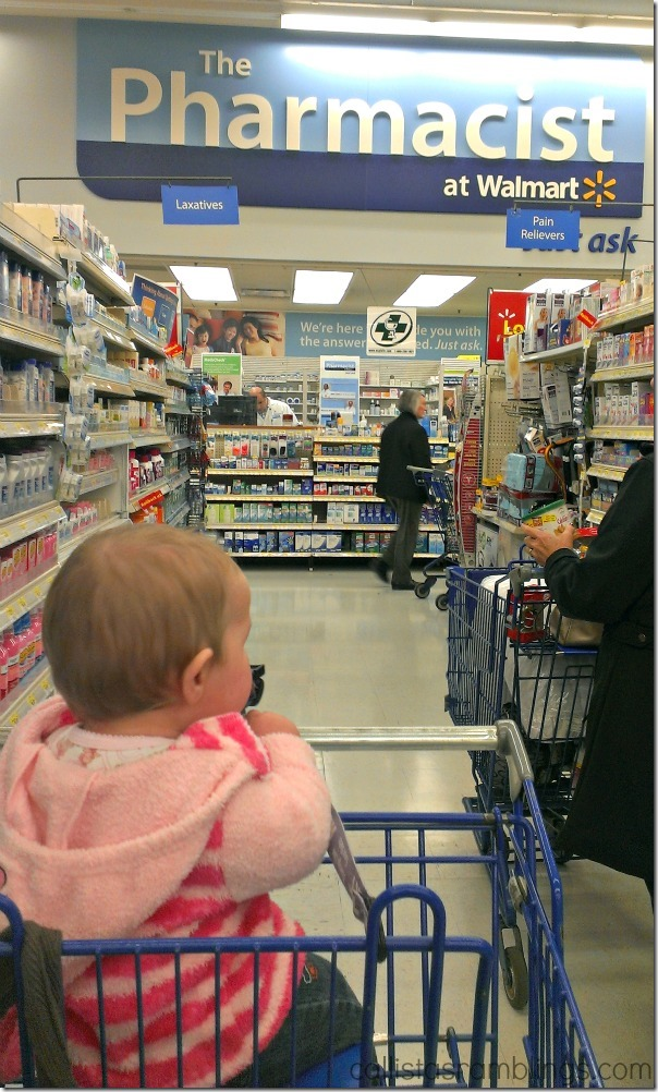 Pharmacy at Walmart (Seen During Polysporin #EczemaAndMe #shop)