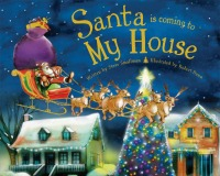 Santa is Coming to My House Book