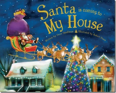 Santa is Coming to My House - Personalized Christmas Book