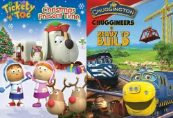 Tickety Toc and Chuggington DVDs