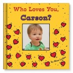 Who Loves You, Baby? (Personalized Board Book)