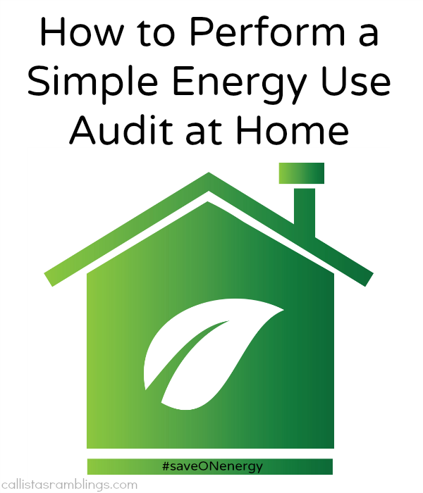 How to Perform a Simple Energy Use Audit at Home