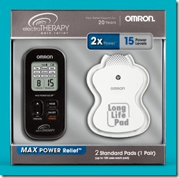 Omron Electrotherapy TENS Max Power Unit