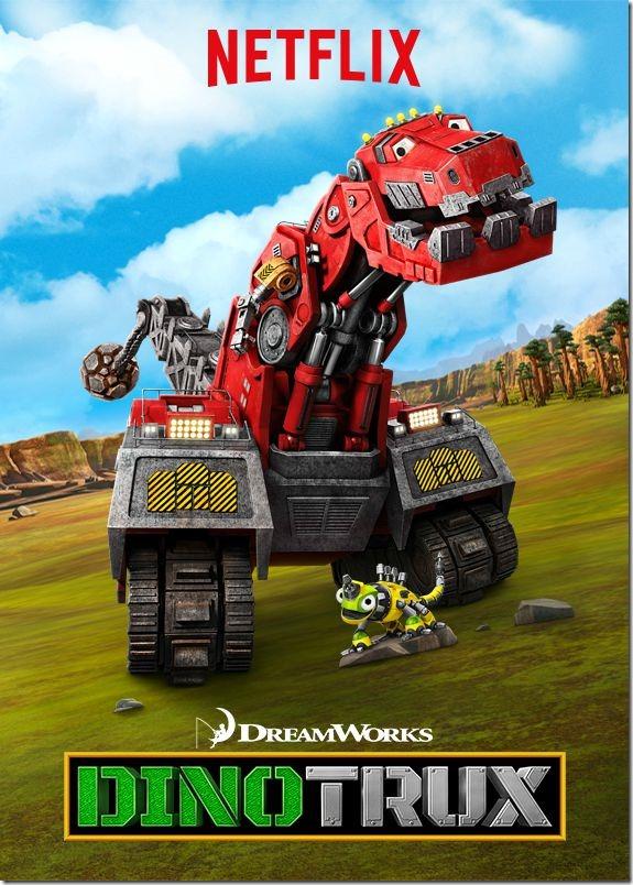Dreamworks Dinotrux on Netflix