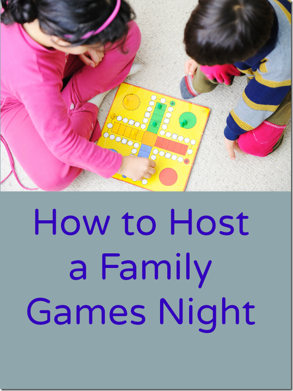 How to Host a Family Games Night