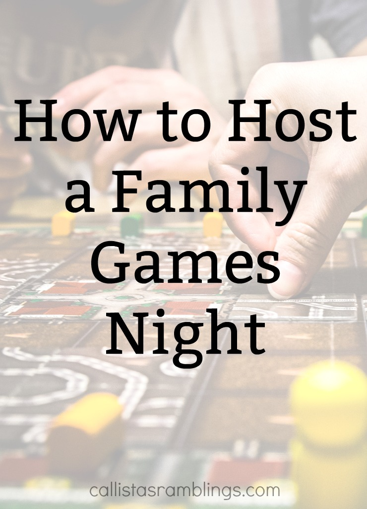 How to Host a Family Game Night