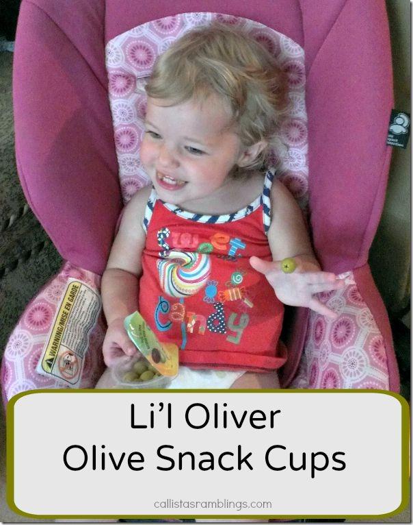 Lil Oliver Olive Snack Cups
