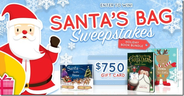 Enter to Win Santa's Bag Sweepstakes
