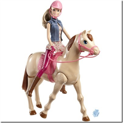 Barbie Saddle n Ride