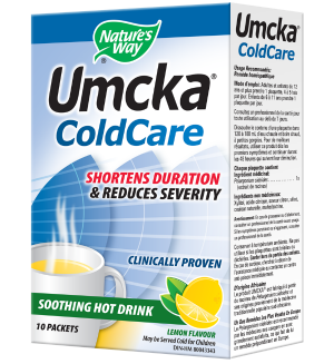 Umcka® Coldcare Soothing Hot Drink - Lemon 10 Pkt