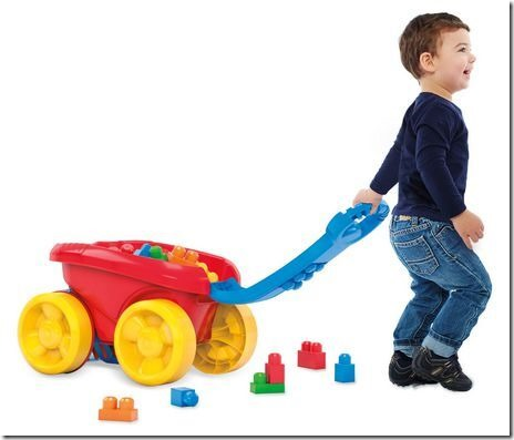 Mega Blocks Scooping Wagon