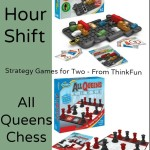 Rush Hour Shift and All Queens Chess by Think Fun