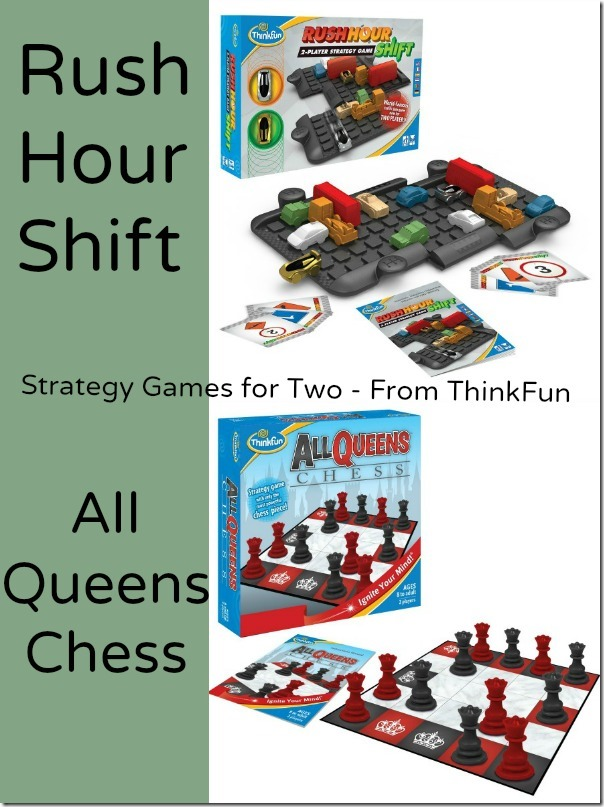 Rush Hour Shift and All Queens Chess - Games from Think Fun