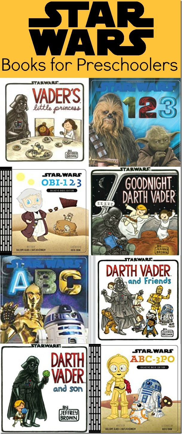 Star Wars Books for Preschoolers - 9 Great Books!