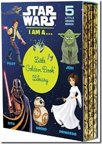 Star Wars I Am a ... Little Golden Book Library - Star Wars Books for Preschoolers