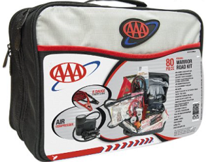 AAA 80-piece Emergency Warrior Road Kit