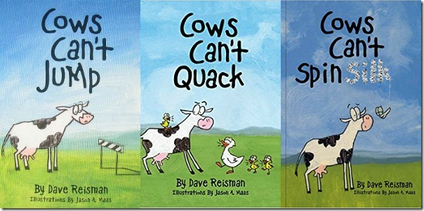 Cows Can't Series by Jumping Cow Press