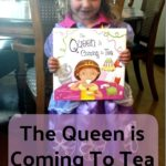 "The Queen is Coming to Tea Book for Child ""Royalty"" + Iced Tea Recipe"