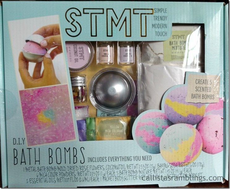 Make Your Own Bath Bombs Kit from STMT