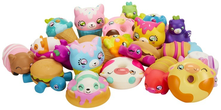 Squish Dee Lish Foam Collectible Toys