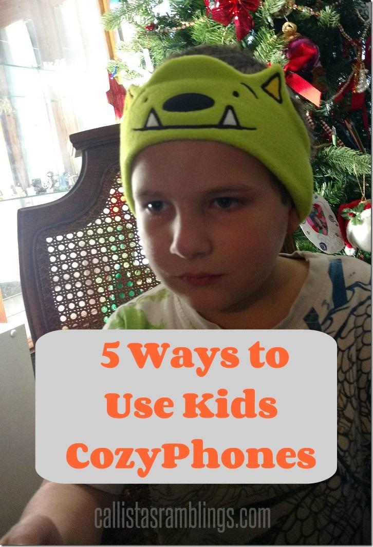 5 Ways to Use Kids CozyPhones