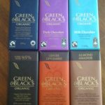 Green & Black's Organic Chocolate Bars and Cocktail Recipes