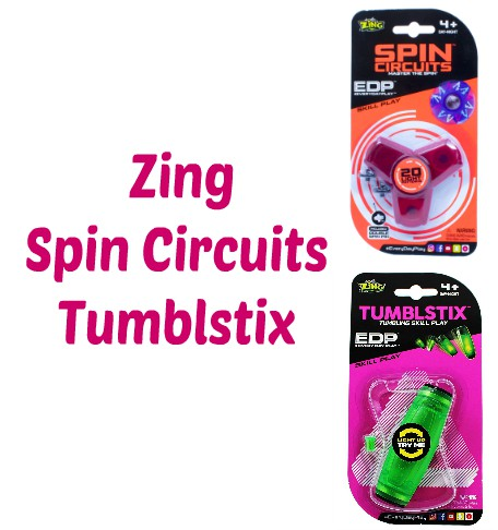 Zing Tumblstix and Zing Spin Circuits