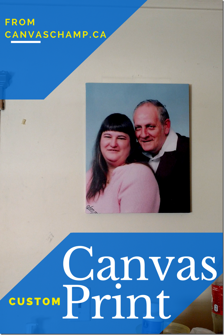 Custom Canvas Prints from Canvas Champ - a review